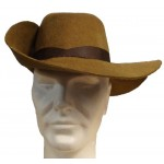 Chapeau mousquetaire marron