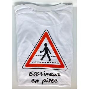 """T-Shirt """"Escrimeur en piste"""""""